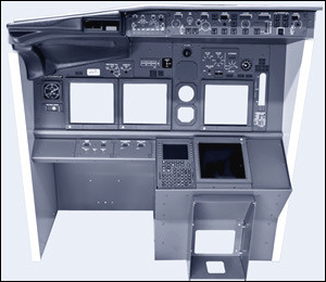 aircraft simulation parts