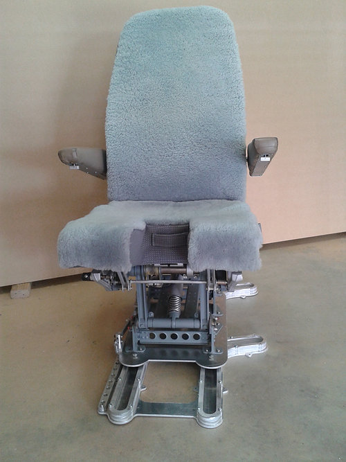 Cockpit Seat suitable for J-Rail