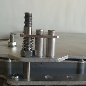 J-Rail universal locking pin