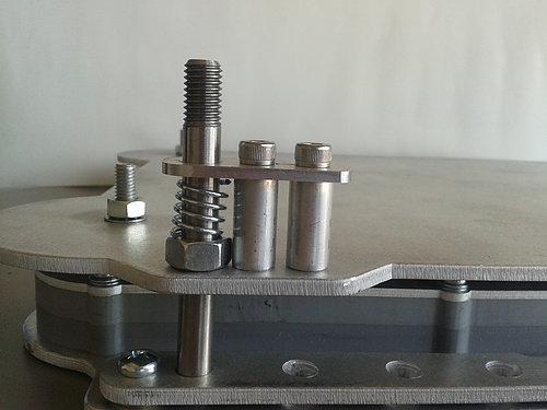 J-Rail universal locking pin
